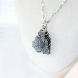 Jewelry - Druzy Shimmer Statement Pendant